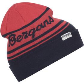 Bergans Find My Kids Beanie Kids navy/light dahlia red